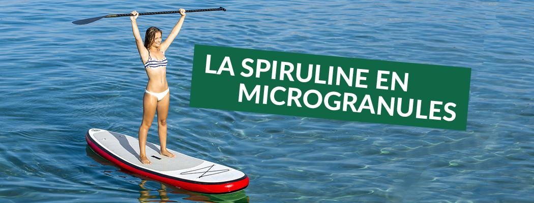 Spiruline microgranules - Laboratoires Activa